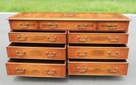 Double Burr Myrtle Chest of Drawers by Brights of Nettlebed